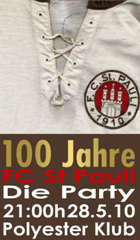 100 Jahre St. Pauli Party im Polyester